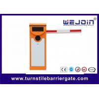 Buy cheap Full Automatic Electronic Barrier Gates Security Straight Driveway Arm IP54 from wholesalers