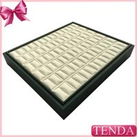 Best Fine Ring Leather Storage Trays Ring Displays Case Jewelry Jewellery Ring Display Tray Manufactures