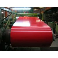 Red Color Coated PPGI Steel Coil ID 508mm Zinc Coated Steel Substrate Manufactures