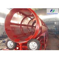 Shaftless Rotary Trommel Screen Machine For Woodchips / Compost / Urban Waste Manufactures