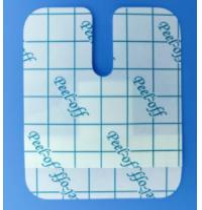 Breathable Sterile I.V Catheter Medical Wound Dressing / Transparent PU Dressing Manufactures