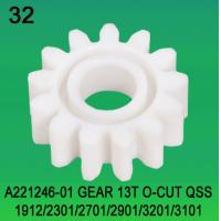A221246-01 GEAR TEETH-13 O-CUT FOR NORITSU qss1921,2301,2701,2901,3201,3101 minilab Manufactures