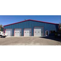 Buy cheap C Section Purlin Building Steel Frame With Heat Insulation Sandwich Panel And from wholesalers