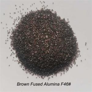 9 Mohs Angular F80# Aluminium Oxide Blasting Media Manufactures