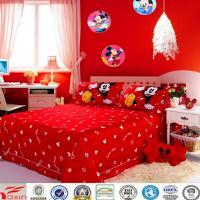 China Licensed Disney Mickey Mouse Fun Bedding Comforter Set with Fitted Sheet Twin Size on sale