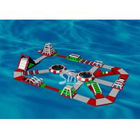 30x20m Custom Design Adults Giant Inflatable Water Park For Floating On Sea Beach Or Open Water Manufactures