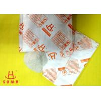 Powerful Food Grade Desiccant Packets Calcium Chloride Material , No Leakage Manufactures