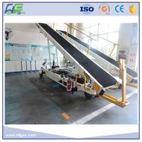 Towable Baggage Conveyor Belt Loader , 700 - 750 Mm Width , Easy Operation