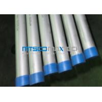 ASME SA789 Seamless Steel Tube Cold Rolled Process Method PED Manufactures