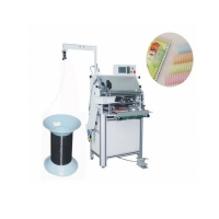 Metal Single Loop 1/4'' Plastic Spiral Coil Forming Machine 20mm Max Thickness Binding Manufactures