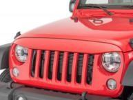 ABS Plastic Jeep Wrangler Eagle Eye Grill Custom Size Maintenance Free Manufactures