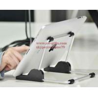 Quality For apple iPad stand Aluminum foldable universal tablet Stand,Holder for apple ipad stand for samsun tablet,tablet mount for sale