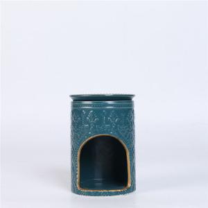 Ceramic Wax Melts Scented Oil Burner , Tea Light Essential Oil Burner Manufactures