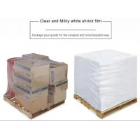 PE Heat Shrink Plastic Film Rolls For Packaging With Customized Size And Colours Manufactures