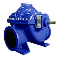Big Flow Double Suction Volute Pump , Horizontal Split Case Pump Electric / Diesel Motor Manufactures