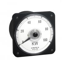 Moving Coil Analog Electric Meter , 110*110mm Analogue Panel Ammeter Three Phase Manufactures