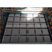 China 200KW 380V Paper Egg Tray Machine With Automatic Stacking  , Collection And Manual Packing System on sale