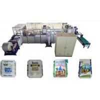 Buy cheap Block Bottom Valve Bag Making Machine Adopt Hot Air Welding Technology from wholesalers
