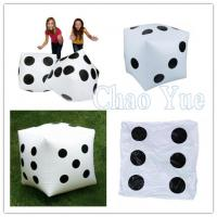 Buy cheap Customized Fun Inflatable Dice for Sport Game from wholesalers