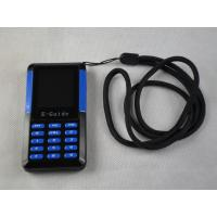006A Small Size Museum Audio Tour Systems , Blue / Black Audio Guide Device Manufactures