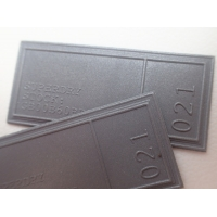 Washable Reflective Silver TPU Label Personalized Promotional Gifts Manufactures