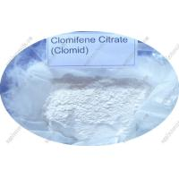 Healthy Raw Steroid Powders Clomifene Citrate CAS 50-41-9 for Muscle Growth