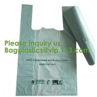 Corn Starch Made 100% Compostable Garment Bags Apparel Mailing Bags Biodegradable reusable recyclable eco firendly Manufactures
