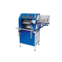 Vertical NBW-450 Paper Binding Machine For Plastic Bind Single Spiral Coil Manufactures