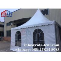 Buy cheap 5x5m Marquee Canopy Tent / Heavy Duty Canopy Tents With 100 Seater TUV from wholesalers