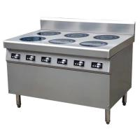 21 kw induktionspis 6 plattor 6*3.5KW Commercial Induction Cooker Easy Clean Fully Modular
