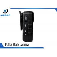 33 Megapixel Police Officer WIFI Body Camera With Password Protection GPS Manufactures