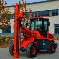 2000mm depth ground hole screw piling horizontal drilling machine GS 2000 Manufactures