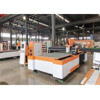 Medium - Power Low Noise Metal Laser Cutting Machine , Laser Metal Cutting Equipment Manufactures