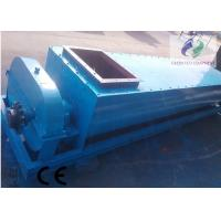 Large Capacity Double Shafts Feed Screw Conveyor For Gypsum 40m Length Manufactures