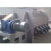 High Speed Powder Ploughshear Mixer , Jacketed Ribbon Blender With Hot Water Injection Manufactures