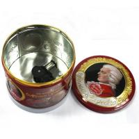 Round Musical Food Metal Container Manufactures