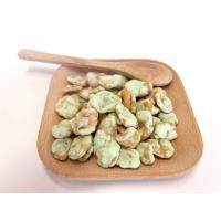 Wasabi Flavor Cooated Fried Broad Beans Snack With Kosher Certificate Manufactures