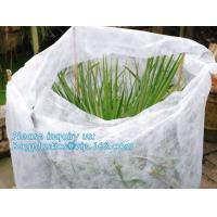 Non-Woven Vegetation Antifreeze Plant Drawstring Shrub Cold Jacket Garden Protection Bag Winter Tree Protective Cover Manufactures