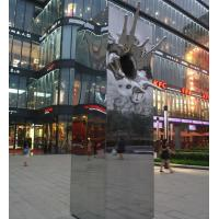 Outdoor abstract garden sculpture Stainless steel statues with mirror polish,Stainless steel sculpture supplier Manufactures