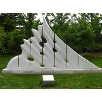 White marble sculptures of Morden city for park Manufactures