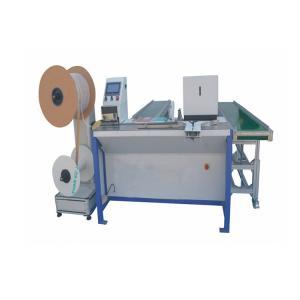 300kg Twin Ring Binding Machine , 1500 Books/H Spiral Forming Machine Manufactures
