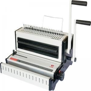 Retail CW2016 Binding Punching Machine Desktop book wire 3/1 binding machine Manufactures