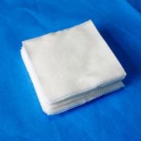 Colorful Medical Gauze Pads For Absorbing Blood And Exudates Folded Edge Manufactures