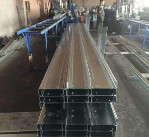 Q235b Q345b Galvanised Steel Purlins Cold Bending Spacing Steel Channel Manufactures