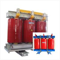 Two Winding AN Air Cooled Transformer Low Noise 6.6 KV - 1000kVA Fireproof Manufactures