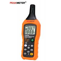 Lcd Digital Thermometer Humidity Meter 184mm × 60mm × 29mm High Precision Manufactures