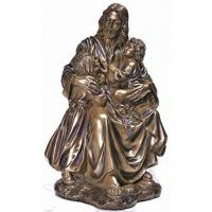 Garden Metal sculpture Jesus & children bronze statues,customized bronze statues, China sculpture supplier Manufactures