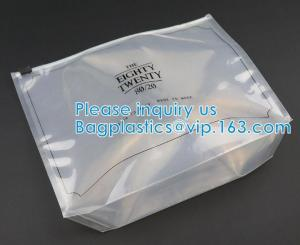 Cosmetic K Clear Bubble Bags/Hot Sale Slider Zipper Bag, Slider Hook Hanging Zipper Bag, Slider Zipper PVC Pencil Manufactures
