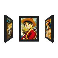 3D Lenticular Flip Picture Anime Advertising LED Light Box For Home Decoration Manufactures