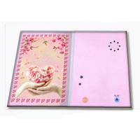 China Pre - recorded Musical Greetings Cards Recordable Greeting Card with customized music on sale